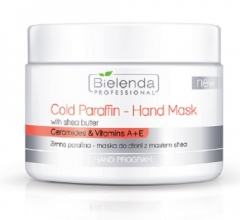 Clamanti - Bielenda Professional Cold Paraffin Hand Mask With Shea Butter Ceramides and Vitamins A+E 150g