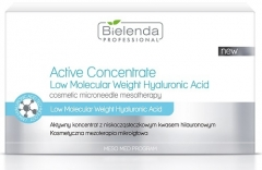 Clamanti - Bielenda Professional Active Concentrate with Low Molecular Weight Hyaluronic Acid 10x3ml