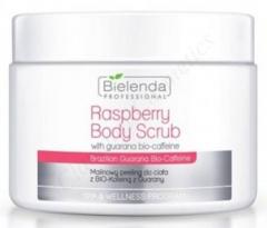 Clamanti - Bielenda Professional Raspberry Body Scrub Brazilian Guarana Bio-Caffeine 550g
