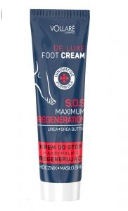 Clamanti - Ingrid Vollare De Luxe Foot Cream  With Urea & Shea Butter S.O.S Maximum Regeneration100ml