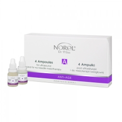 Clamanti - Norel Professional Anti Age Ampoules for Sonophoresis and No Needle Mesotherapy 4x12ml