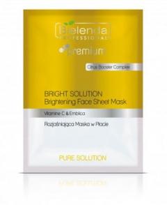 Clamanti - Bielenda Professional Bright Solution Brightening Face Sheet Mask 25g