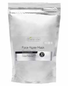 Clamanti - Bielenda Professional Algae Face Mask with Activated Carbon Glucose and Kaolin 260g
