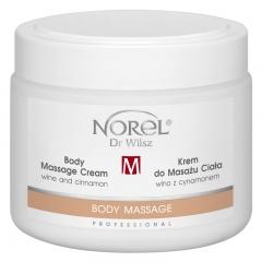 Clamanti - Norel Professional Body Massage Cream with Wine and Cinnamon 500ml