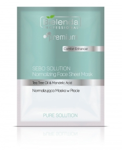 Clamanti - Bielenda Professional Pure Solution Sebo Solution Normalizing Face Sheet Mask 25g