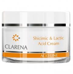 Clamanti - Clarena Acid Line Shicimic and Lactic Anti Wrinkle Moisturising Night Cream 50ml