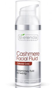 Clamanti - Bielenda Professional Cashmere Facial Fluid with Colloidal Gold 50ml