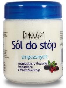Clamanti - BingoSpa Energising Salt for Tired Feet with Guarana & Dead Sea Minerals 550g
