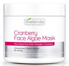 Clamanti - Bielenda Professional Cranberry Face Algae Mask 190g