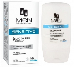 Clamanti - AA Men Hypoallergenic Sensitive After Shave Cooling Gel Menthol Aloe Extract 100ml