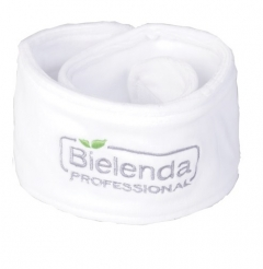 Clamanti - Bielenda Professional Terry Cloth Headband for Spa Beauty Treatments