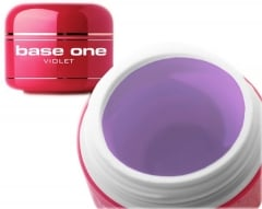 Clamanti - Silcare Base One Violet Medium Thick UV Nail Gel 5g