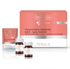 Clamanti Bielenda Professional Ferul-X De-pigmentation Brightening & Anti Ageing Treatment Set