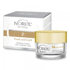 Clamanti - Norel Pearls and Gold Vitalizing Cream with Colloidal Gold 50ml