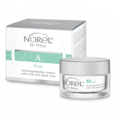 Clamanti Norel Acne Anti Imperfection Cream with AHA and Silver Ions 50ml