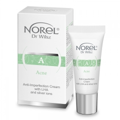 Clamanti Norel Acne Anti Imperfection Cream with AHA and Silver Ions 15ml