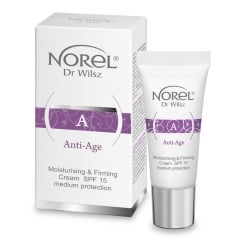 Clamanti Norel Anti Age Moisturising And Firming SPF 15 Face Cream 15ml