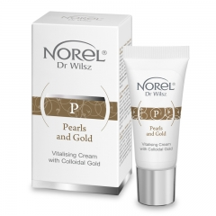 Clamanti  - Norel Pearls and Gold Vitalizing Cream with Colloidal Gold 15ml