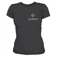 Clamanti - Clarena T-shirt with embroidery BLACK Size S