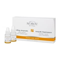 Clamanti - Norel Professional Pearls and Gold Lifting Ampoules 4x5ml