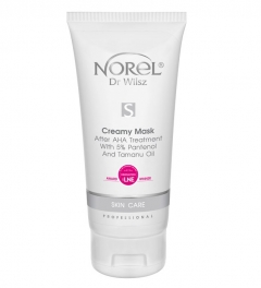 Clamanti - Norel Professional Skin Care Creamy Mask After AHA and Microdermabrasion Treatment With 5% Pantenol & Tamanu Oil  200ml