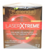 Clamanti - Bielenda Laser Xtreme Lifting and Firming Wrinkle Corrector Night Cream 50ml