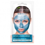 Clamanti - Bielenda Blue Detox Detoxifying Metallic Mask for Dry and Sensitive Skin 8g