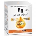 Clamanti - AA Oil Infusion Tsubaki Argan Oil Hial+ Regenerating 40+ Night Cream 50ml