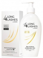 Clamanti - Long 4 Lashes Serum Stimulating Eyelash Growth 3ml + Free 180ml Micellar Solution