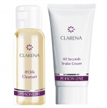 Clamanti - Clarena Poison Mini Set with 60 Seconds Snake cream 15ml + 8'Oils Cleanser 30ml