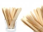 Clamanti - Large Wooden Spatulas for Waxing 100 pcs
