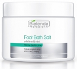 Clamanti - Bielenda Professional  Foot Bath Salt With Lime and Mint 600g