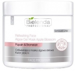 Clamanti - Bielenda Professional Refreshing Face Algae Gel Mask Apple Blossom 200g