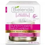 Clamanti - Bielenda Skin Clinic Professional Super Power Mezo Anti-Age Actively Rejuvenating Day Night Cream 50ml