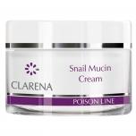 Clamanti - Clarena Poison Snail Mucin Regenerating Face Cream with Snail Mucus 50ml