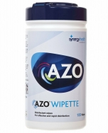 Clamanti Azo Wipes Hard Surface Disinfectant Wipes Canister 100pcs