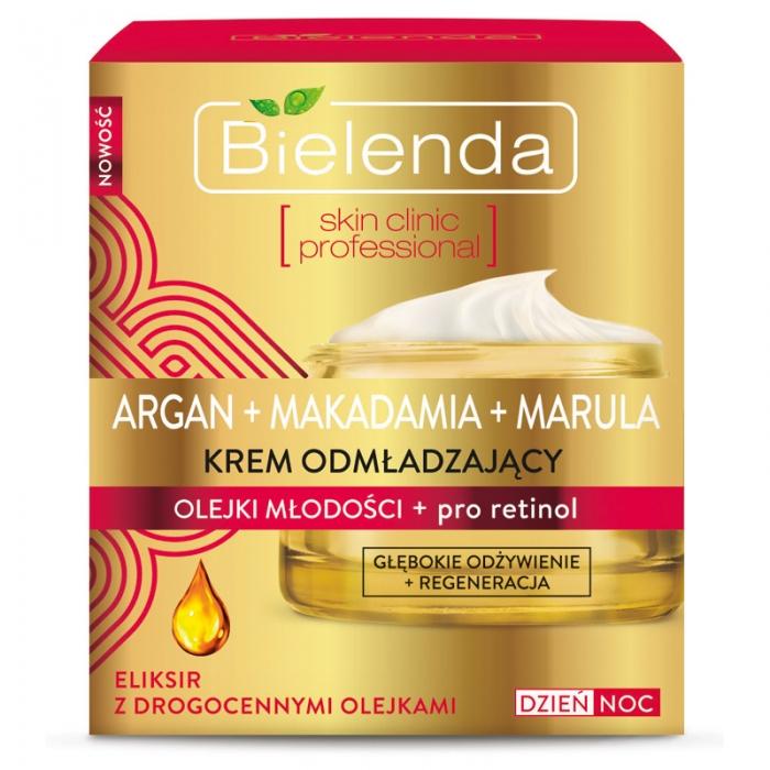 Clamanti - Bielenda Argan Macadamia Marula Enriched Face Cream + Pro Retinol 50ml
