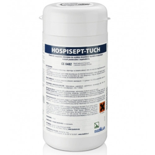 Clamanti - Hospisept Touch Disinfecting Wipes for Medical Equipment 100pcs