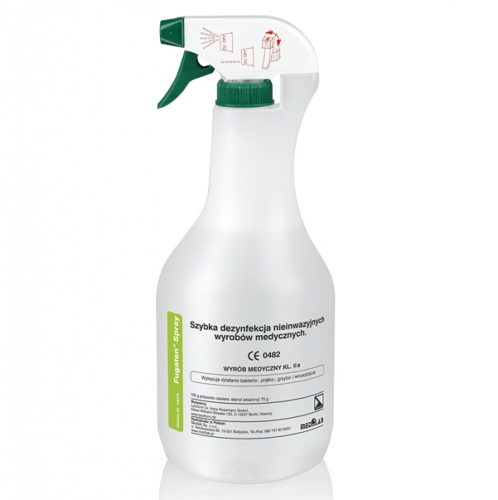 Clamanti - Fugaten Spray Disinfectants for Surfaces,Objects and Medical Devices 1000ml