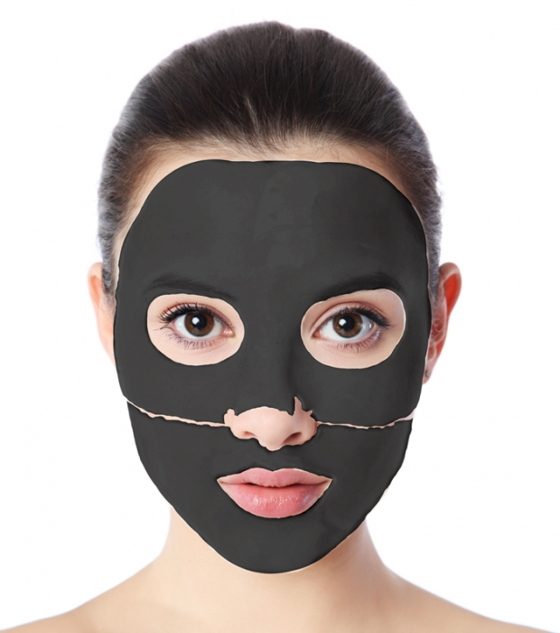 Clamanti - Clarena Carbon Crystal Collagen Mask for Oily Mixed and Acne Skin 1pc