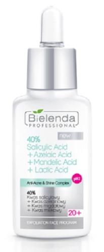 Clamanti - Bielenda Professional Anti Acne 40% Salicylic+ Azelaic+  Mandelic+  Lactic Acid 30g
