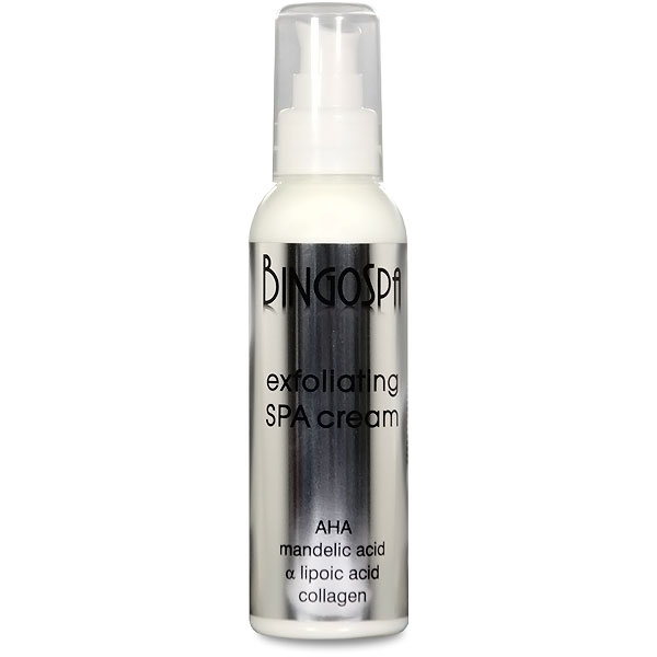 Clamanti - BingoSpa Exfoliating Spa Cream with Mandelic Acid Lipoic Acid and Collagen 135g