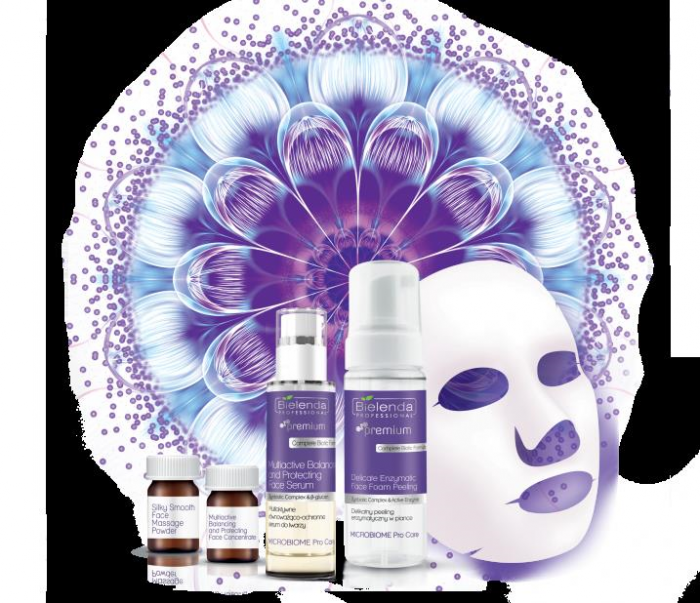 Clamanti - Bielenda Professional Microbiome Balancing & Protecting Face Treatment Set