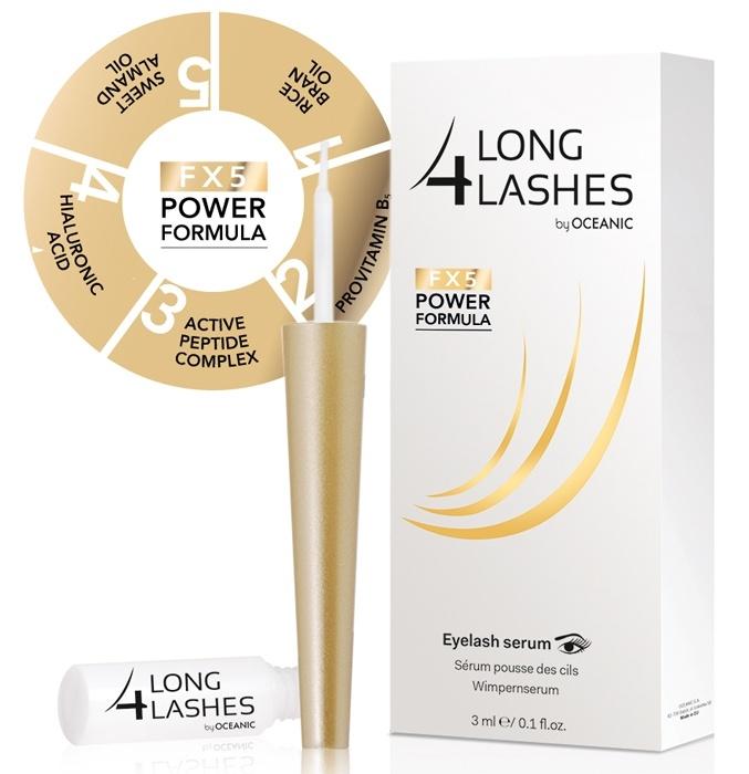 Clamanti - Long 4 Lashes FX5 Serum Stimulating Eyelash Growth 3ml