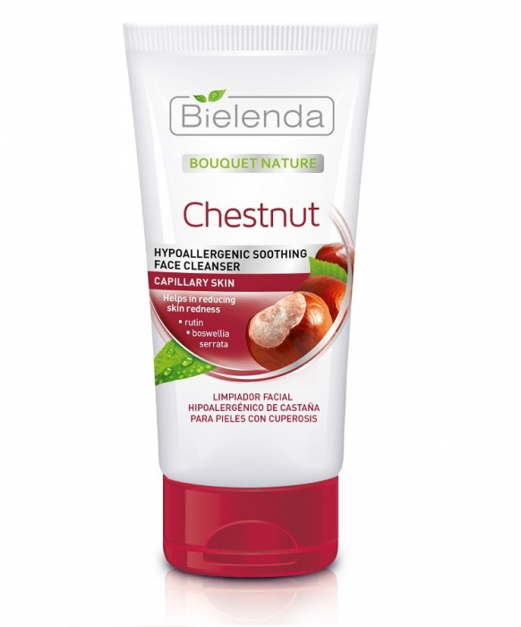 Clamanti - Bielenda Chestnut Hypoallergenic Soothing Face Cleanser for Capillaries 150g