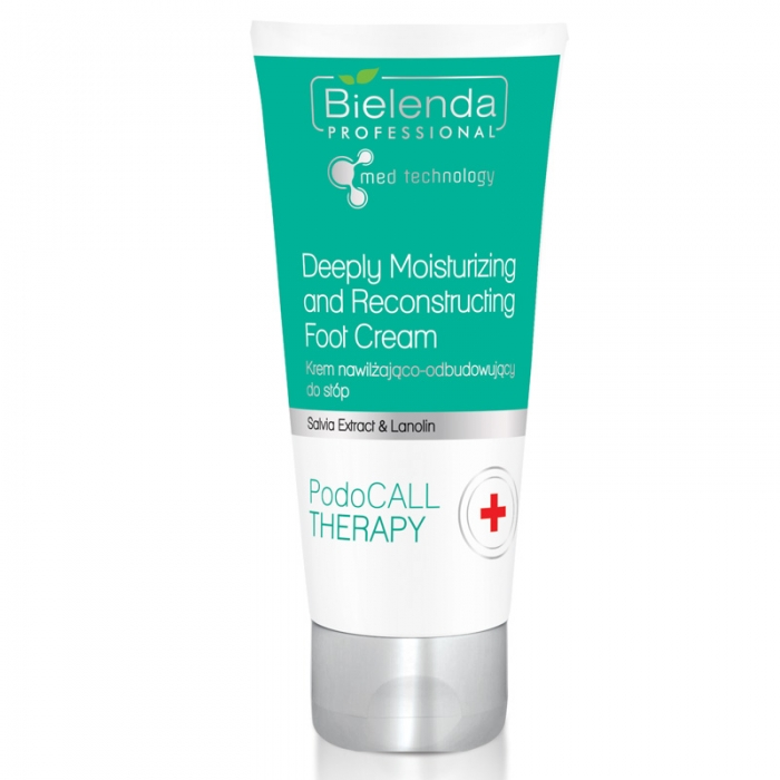 Clamanti - Bielenda Professional PodoCall Therapy Deeply Moisturising and Reconstructing Foot Cream 50ml