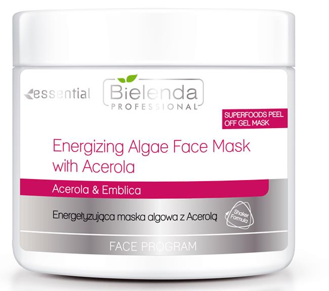 Clamanti - Bielenda Professional Super Foods Energizing Peel Off Gel Algae Mask With Acerola and Emblica 200g