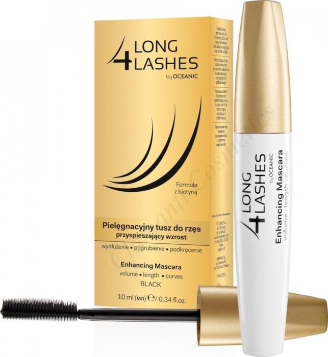Clamanti - Long 4 Lashes Eyelash Growth Enhancing Black Mascara with Biotin 10ml
