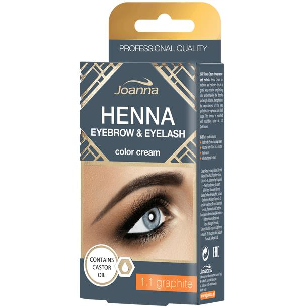 Clamanti - Joanna Henna Graphite Eyebrow and Eyelash Color Cream 15ml